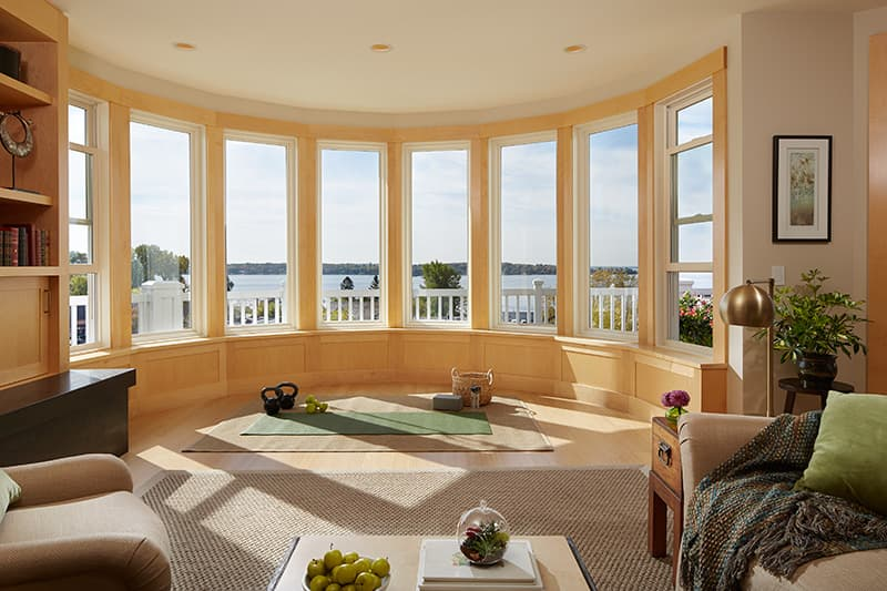 Bow Windows For The Family Room